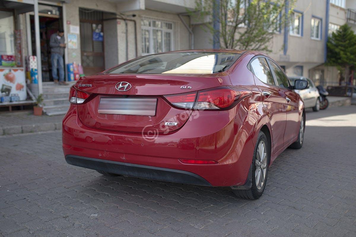 Hyundai Elantra Üsküdar Kiralık Araç 3. Fotoğraf