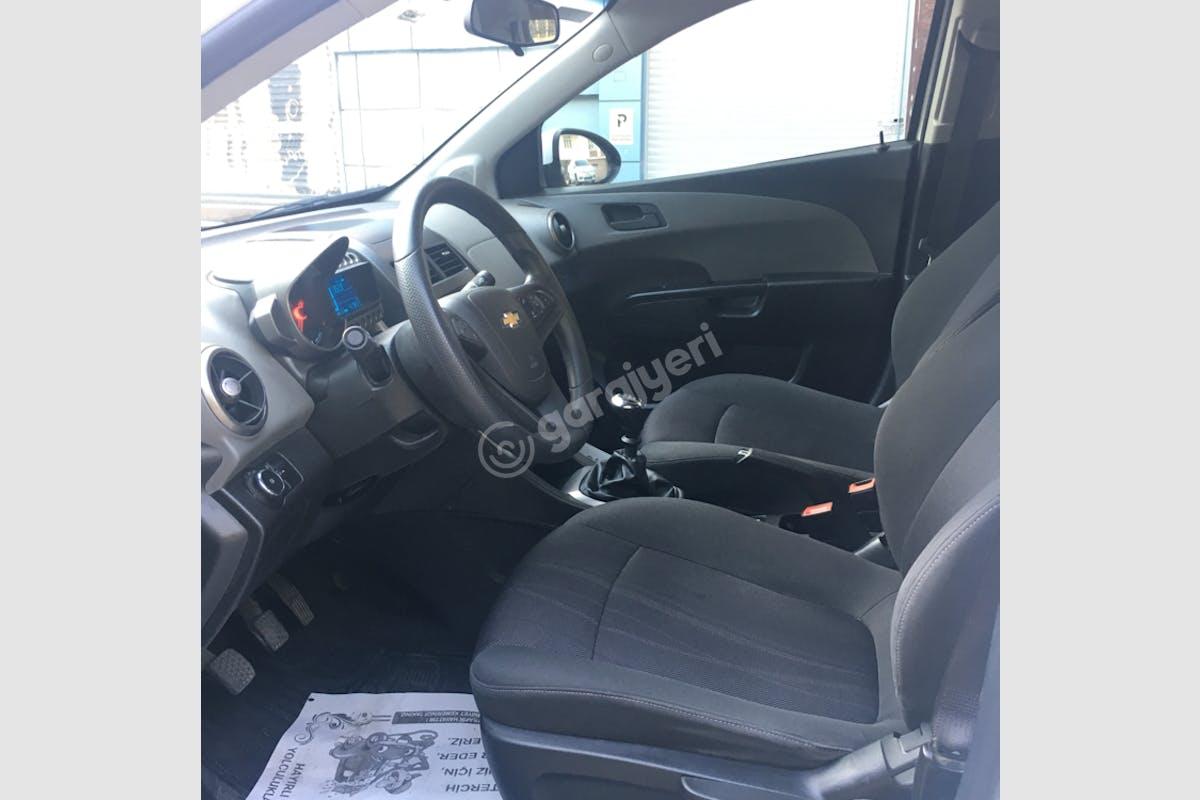 Chevrolet Aveo Bahçelievler Kiralık Araç 8. Fotoğraf