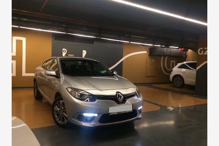 Kiralık Renault Fluence 2015 , İstanbul Üsküdar