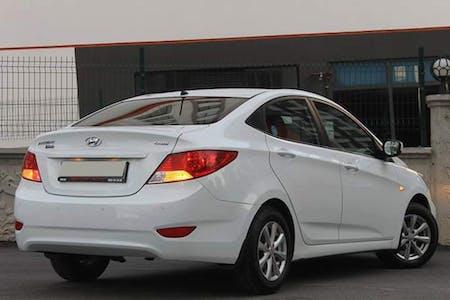 Kiralık Hyundai Accent Blue 2018 , Ankara Keçiören