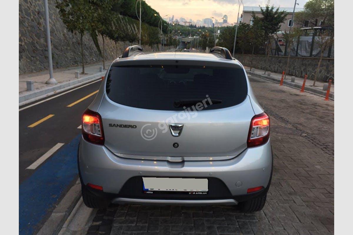 Dacia Sandero Stepway Şişli Kiralık Araç 6. Fotoğraf