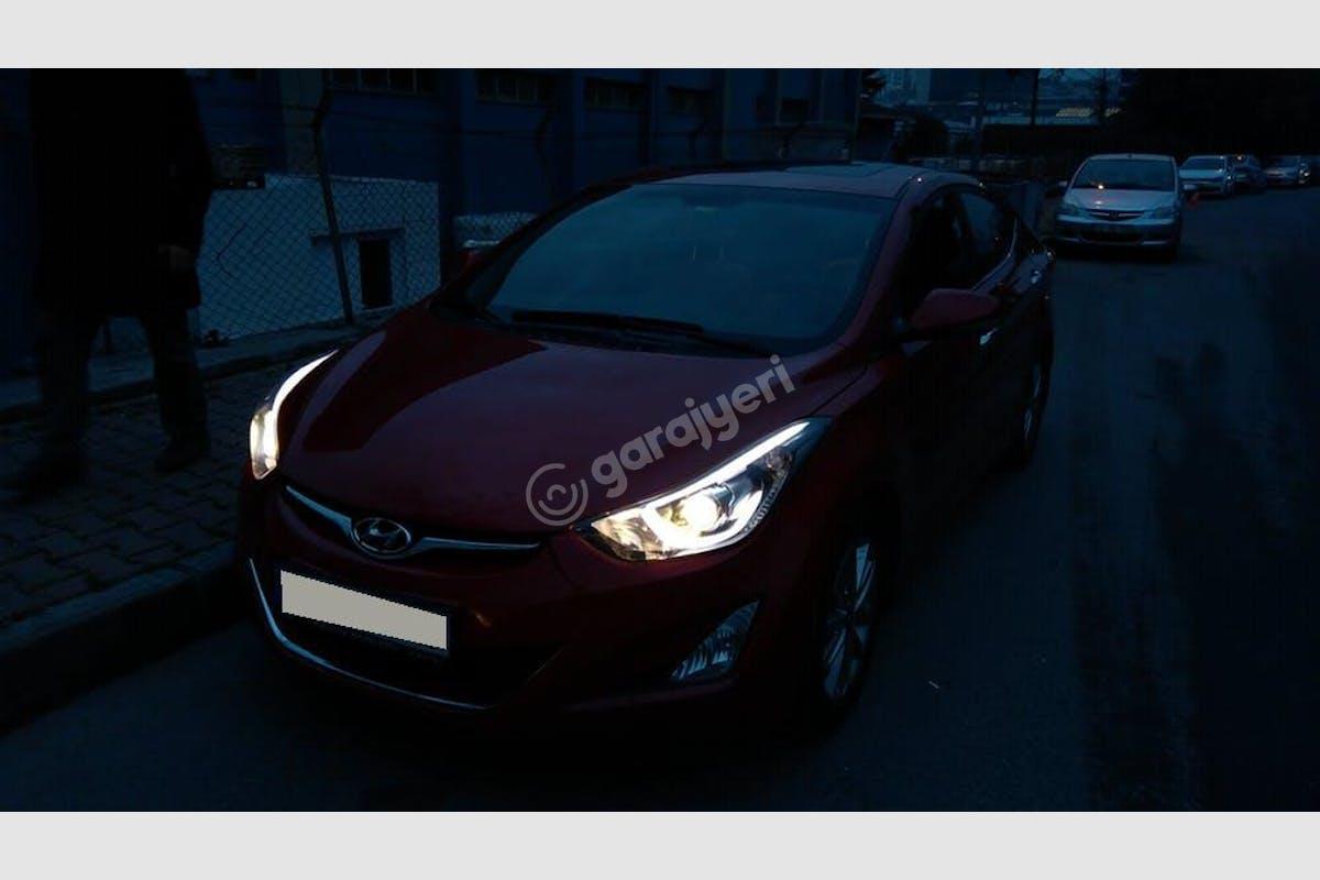 Hyundai Elantra Bahçelievler Kiralık Araç 13. Fotoğraf