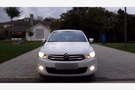 Citroën C-Elysee İstanbul Gaziosmanpaşa Kiralık Araç