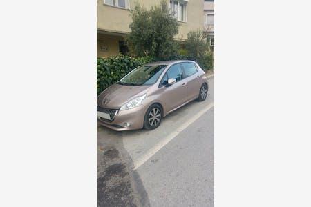 Kiralık Peugeot 208 2013 , İzmir Buca