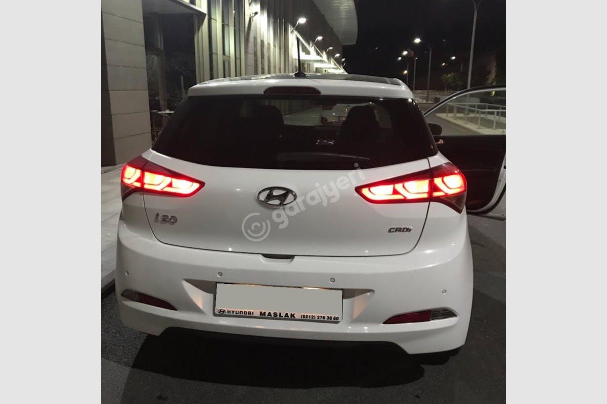 Hyundai i20 Şişli Kiralık Araç 7. Fotoğraf