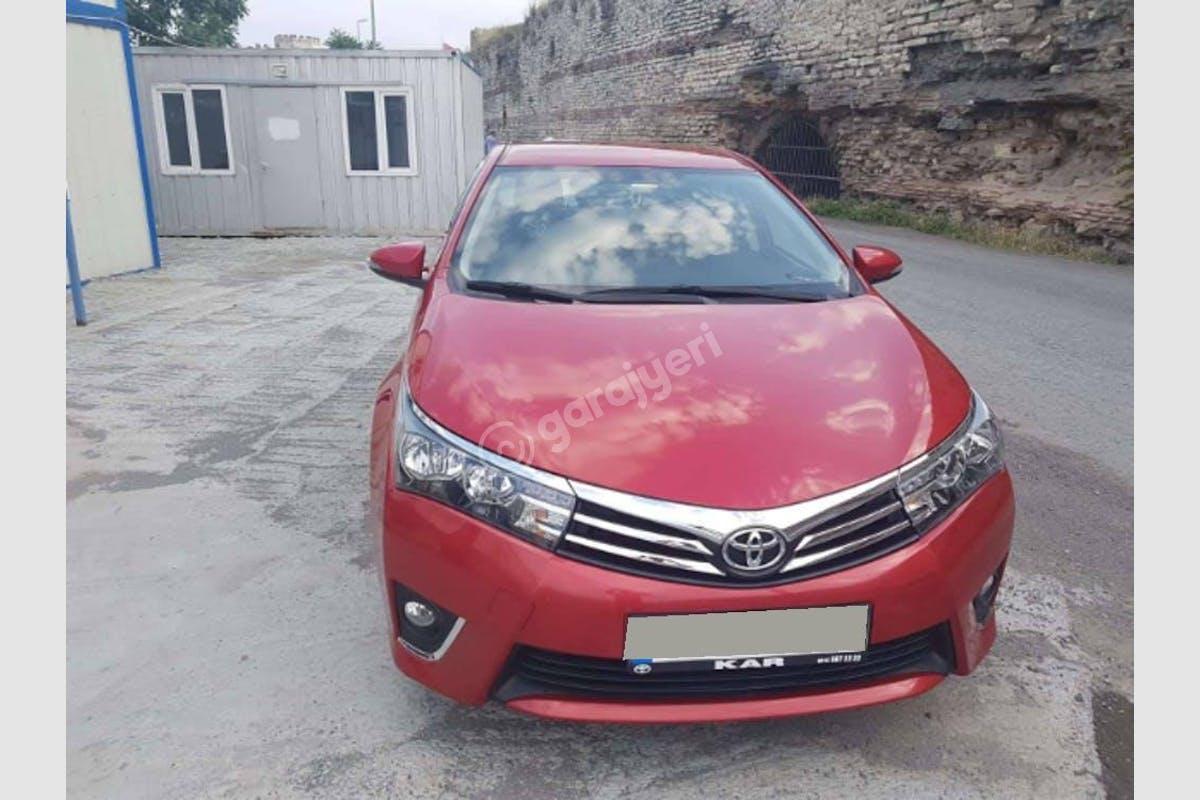 Toyota Corolla Fatih Kiralık Araç 2. Fotoğraf