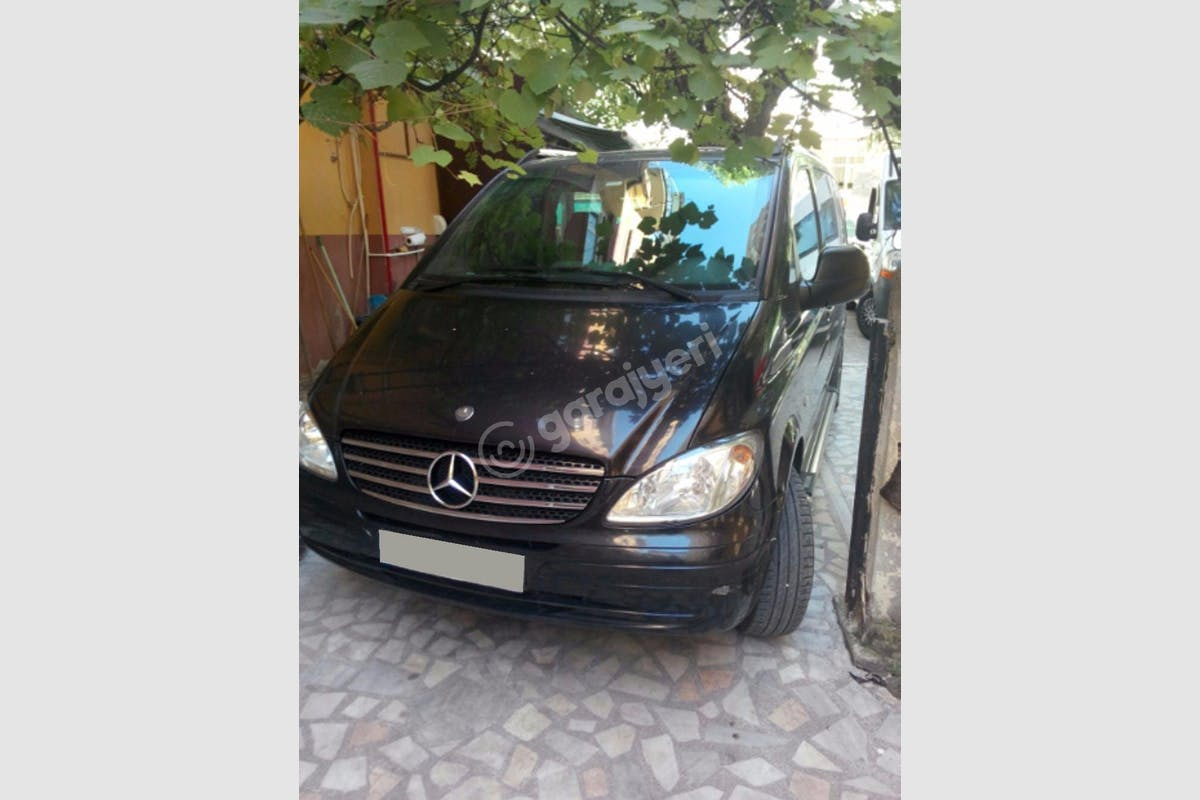 Mercedes - Benz Vito Zeytinburnu Kiralık Araç 2. Fotoğraf