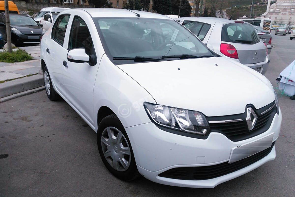 Renault Symbol Kadıköy Kiralık Araç 1. Fotoğraf