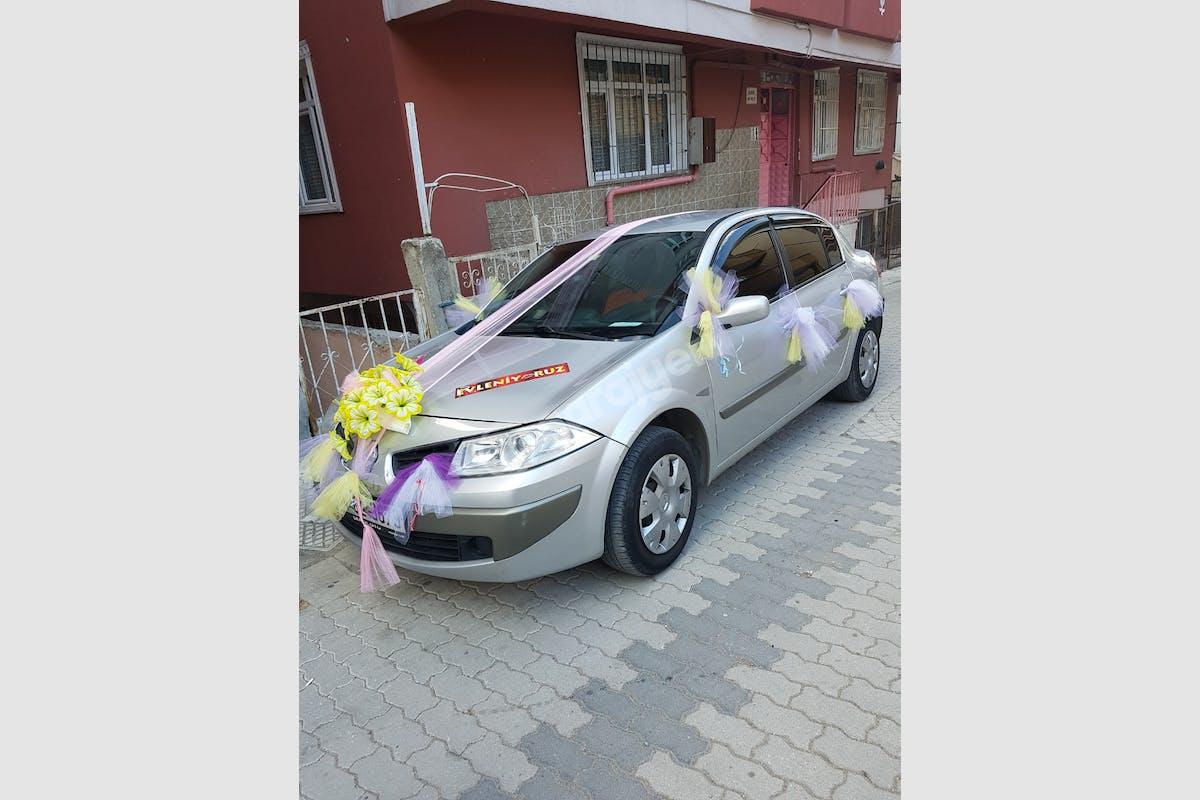 Renault Megane Küçükçekmece Kiralık Araç 2. Fotoğraf