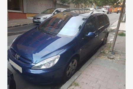 Kiralık Peugeot 307 , İstanbul Sultangazi