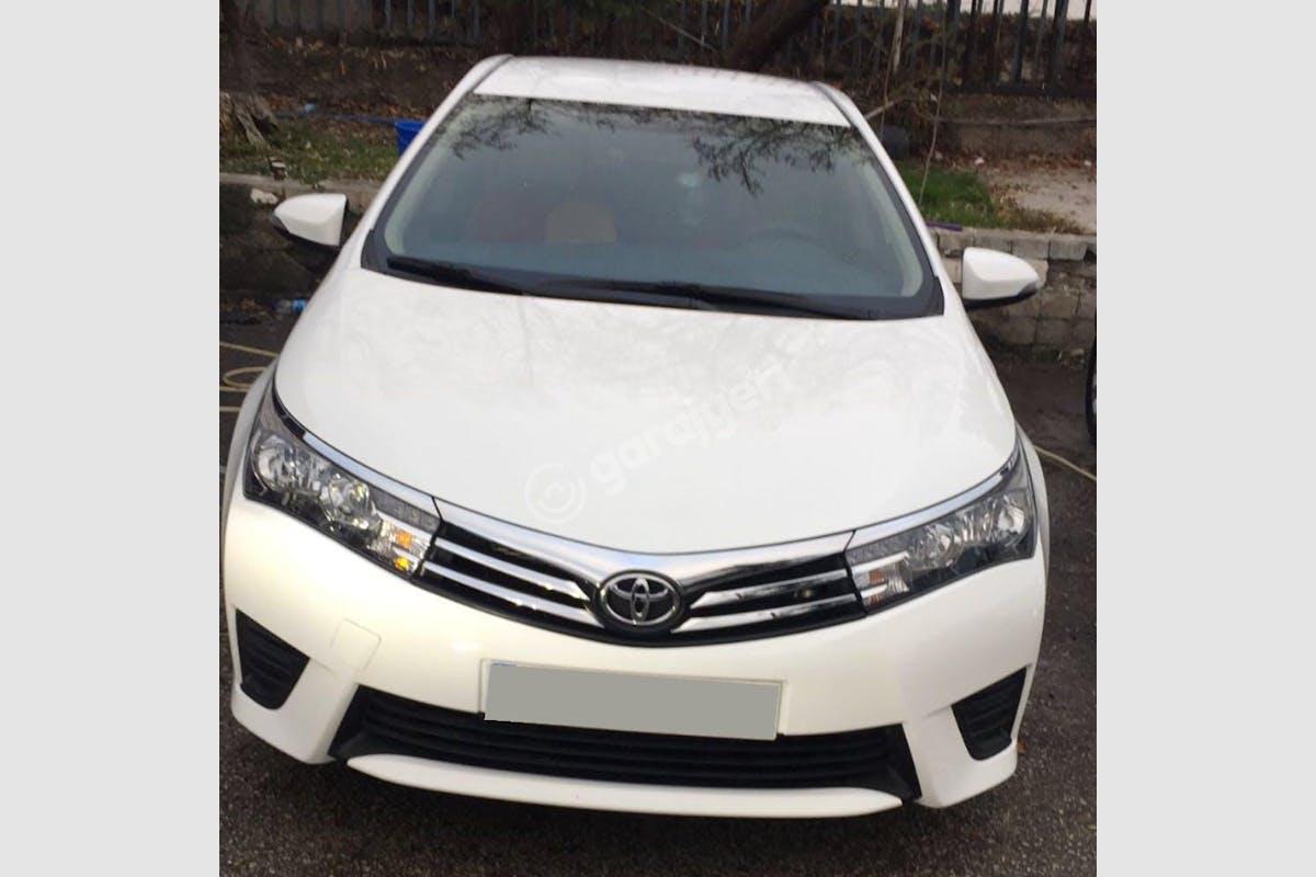 Toyota Corolla Altındağ Kiralık Araç 2. Fotoğraf