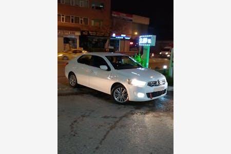 Kiralık Citroën C-Elysee , İstanbul Sancaktepe