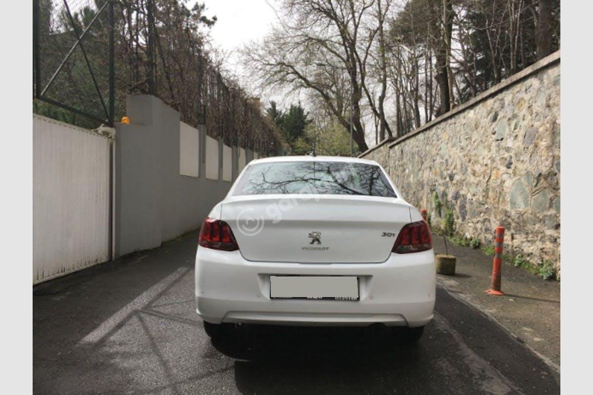 Peugeot 301 Sarıyer Kiralık Araç 4. Fotoğraf