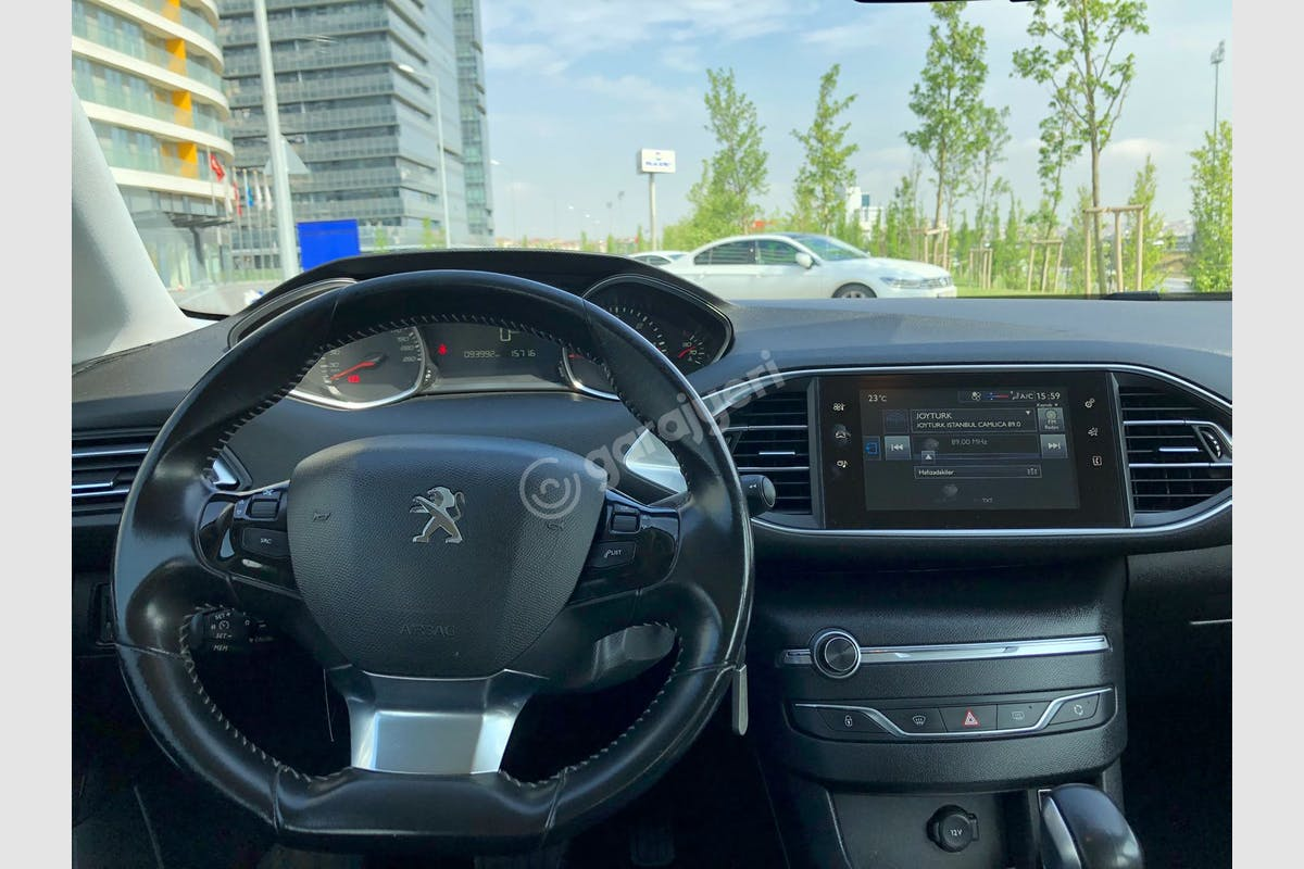 Peugeot 308 Gaziosmanpaşa Kiralık Araç 5. Fotoğraf