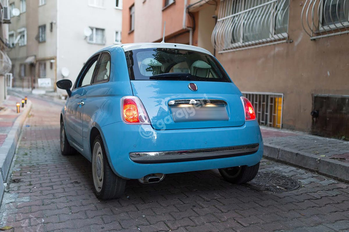 Fiat 500 Şişli Kiralık Araç 7. Fotoğraf