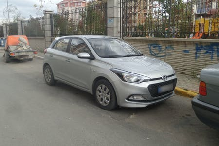 Kiralık Hyundai i20 , İstanbul Pendik