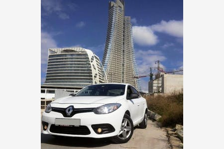 Kiralık Renault Fluence 2015 , İstanbul Ataşehir