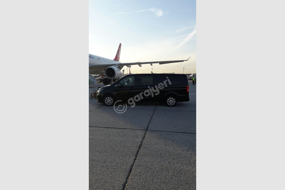 Mercedes - Benz Vito Beşiktaş Kiralık Araç 6. Fotoğraf