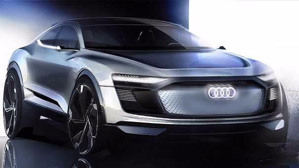 Audi'den Yeni Elektrikli Otomobil Konsepti: E-Tron Sportback