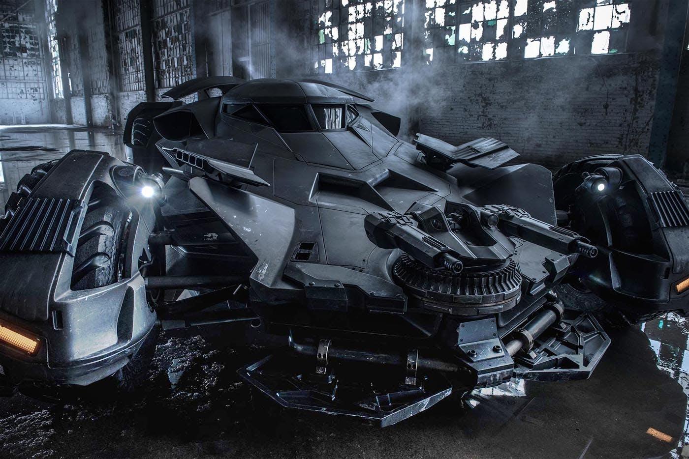 Batmobile İstanbul'a Geldi