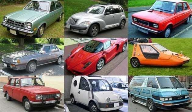 Gelmiş Geçmiş En İlginç Otomobiller