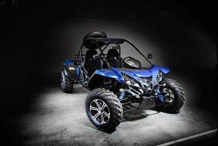 Arazi Tipi Elektrikli ATV: Epic EV Amp