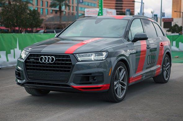 Audi Yapay Zeka Özellikli Test Aracını Tanıttı