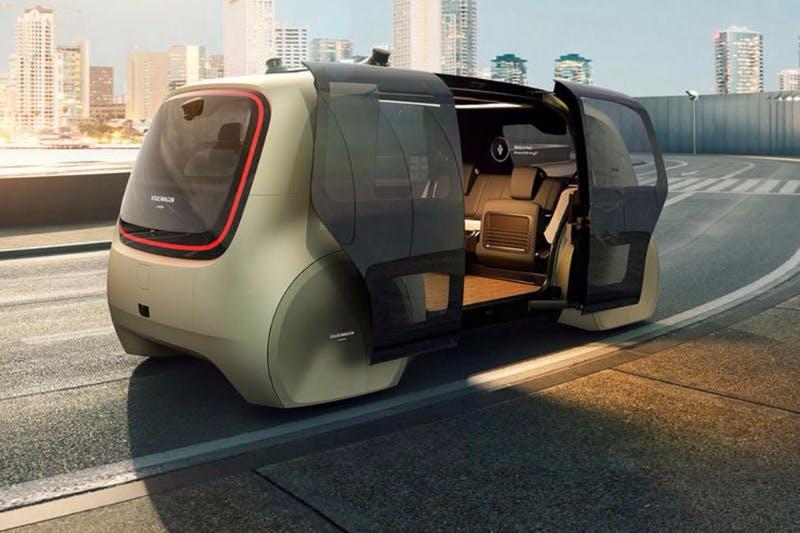 Volkswagen Yeni Sürücüsüz Araç Modelini Tanıttı