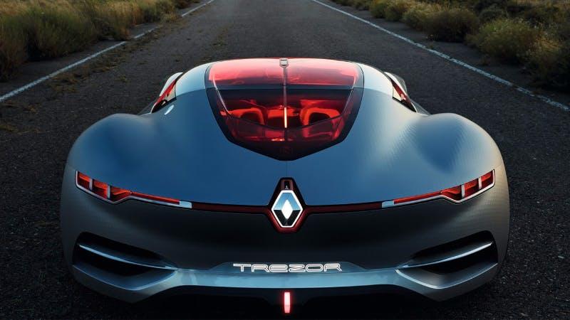 Renault'un elektrikli araba konsepti: Trezor!