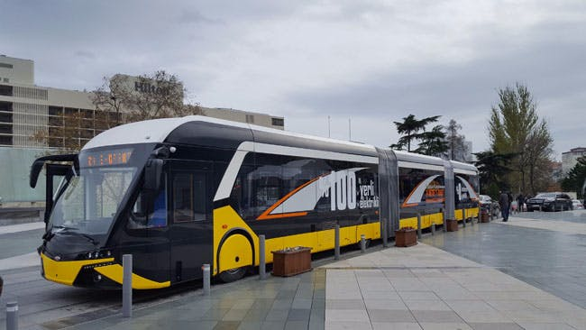 Yerli Yapım Elektrikli Otobüs E-Karat 2017'de Yollarda Olacak