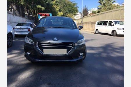 Kiralık Peugeot 301 2017 , İstanbul Bahçelievler