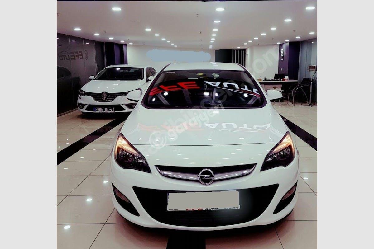 Opel Astra Sedan Bahçelievler Kiralık Araç 1. Fotoğraf