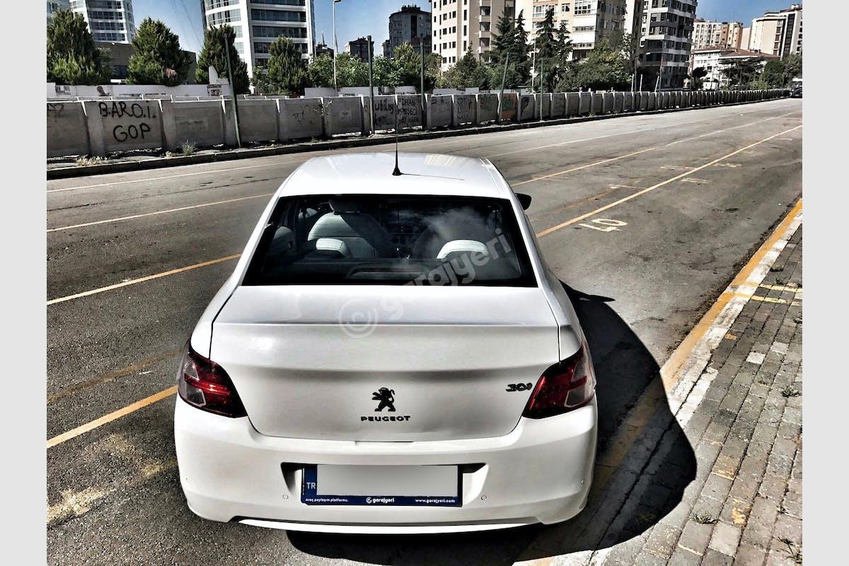 Peugeot 301 Kadıköy Kiralık Araç 4. Fotoğraf