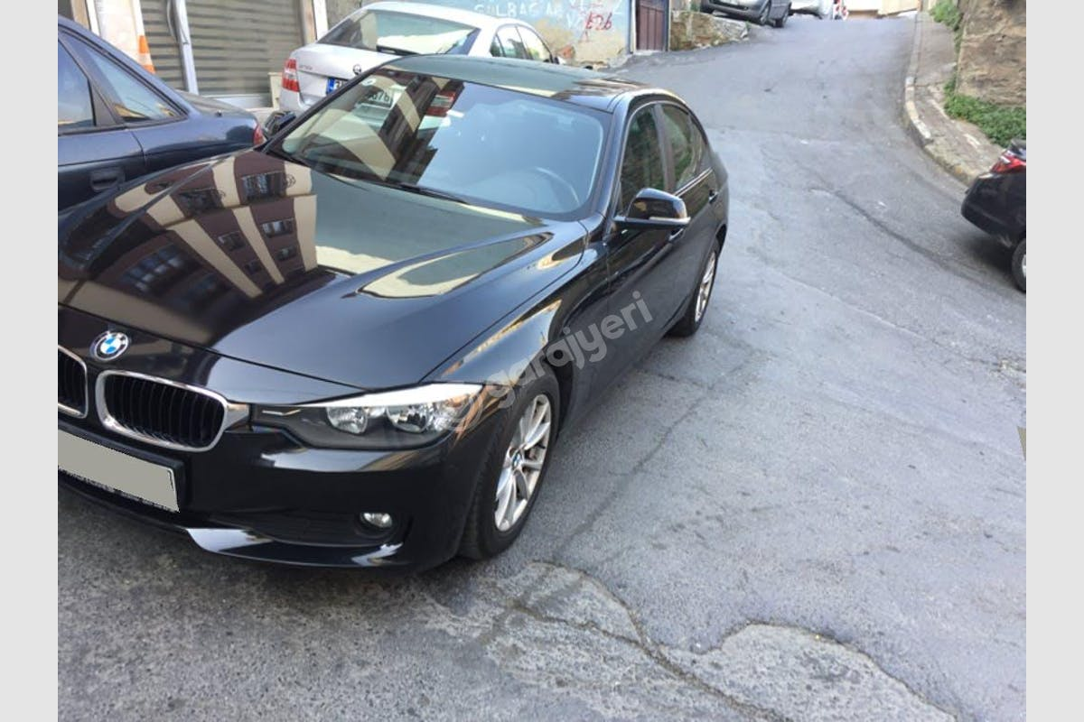 BMW 3 Beşiktaş Kiralık Araç 1. Fotoğraf