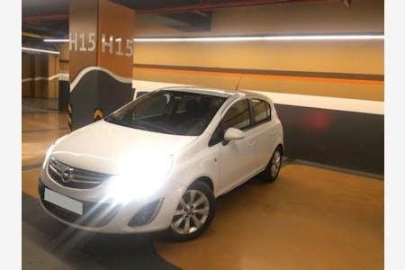 Kiralık Opel Corsa 2012 , İstanbul Kadıköy