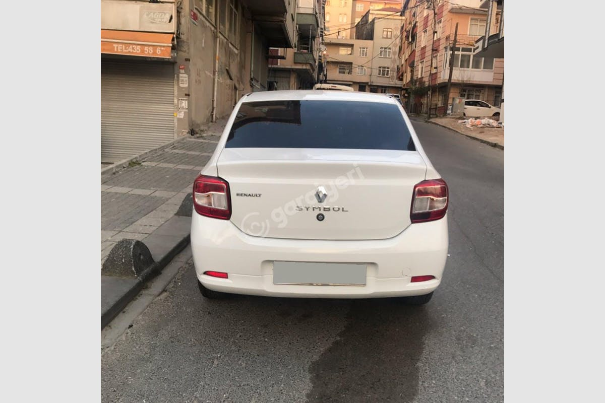 Renault Symbol Bakırköy Kiralık Araç 1. Fotoğraf