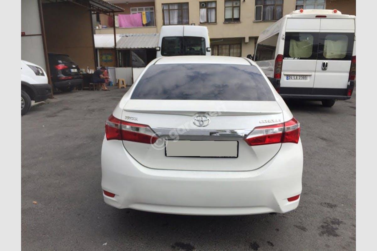 Toyota Corolla Bayrampaşa Kiralık Araç 2. Fotoğraf