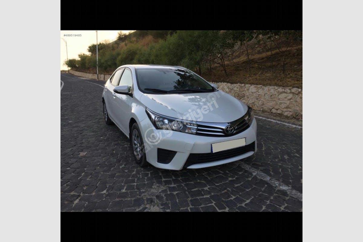 Toyota Corolla Sarıyer Kiralık Araç 1. Fotoğraf