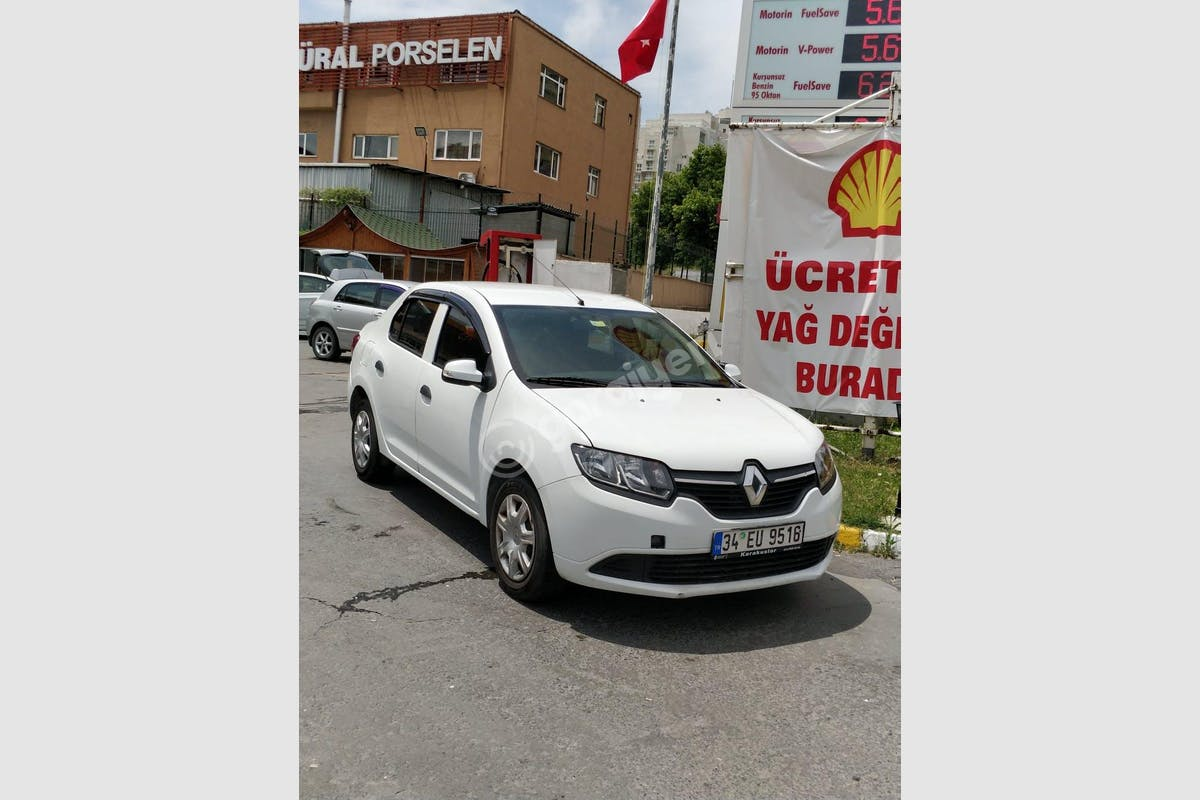 Renault Symbol Küçükçekmece Kiralık Araç 1. Fotoğraf