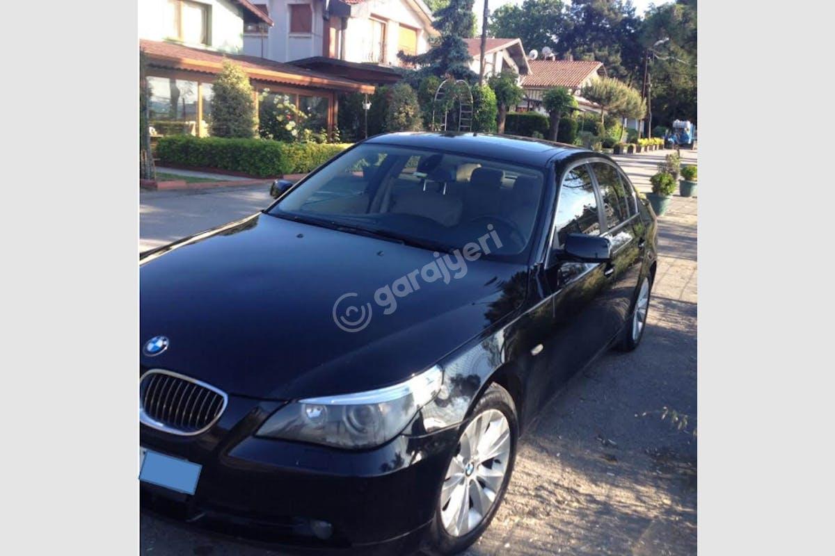 BMW 5 Sabiha Gökçen Havaalanı Kiralık Araç 1. Fotoğraf