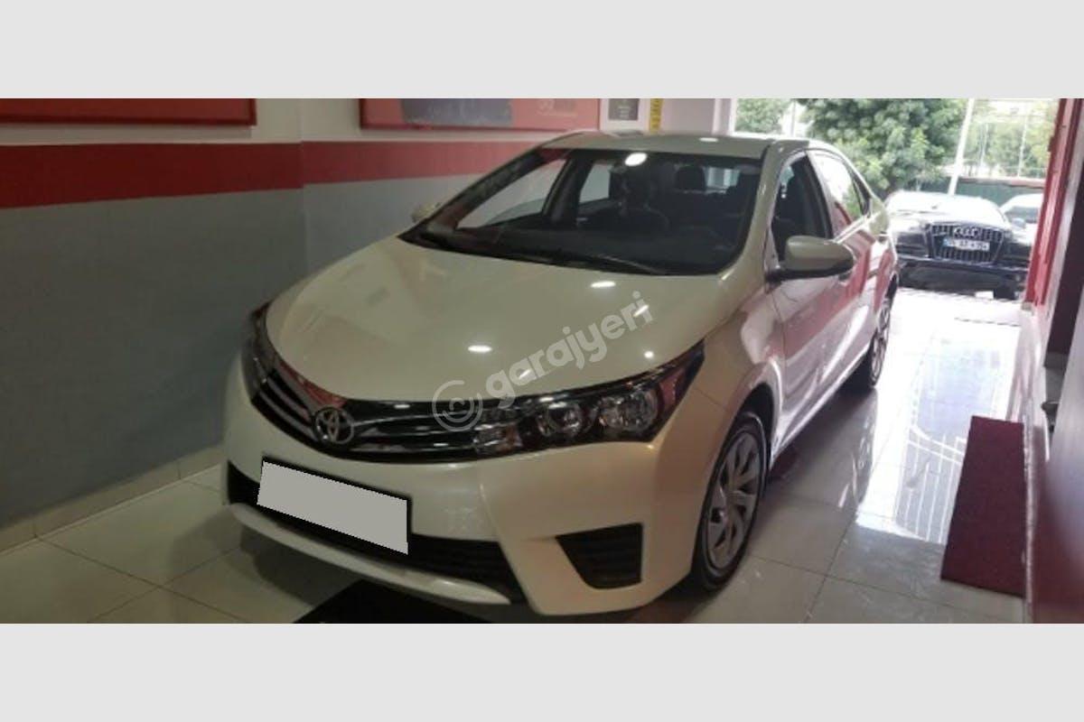 Toyota Corolla Ümraniye Kiralık Araç 1. Fotoğraf