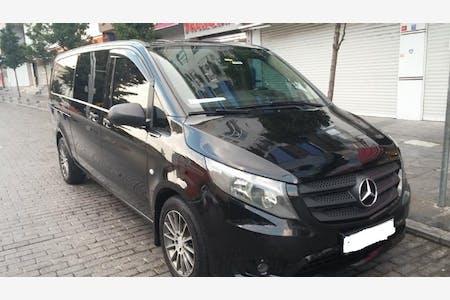 Kiralık Mercedes - Benz Vito 2015 , İstanbul Zeytinburnu