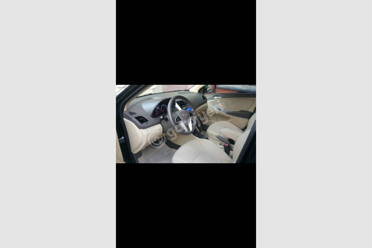 Hyundai Accent Bayrampaşa Kiralık Araç 4. Fotoğraf