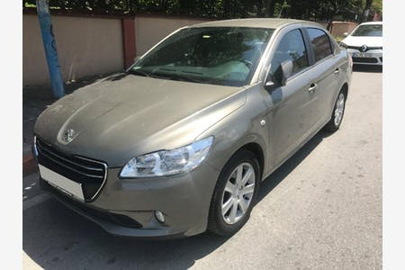 Kiralık Peugeot 301 2015 , İstanbul Pendik