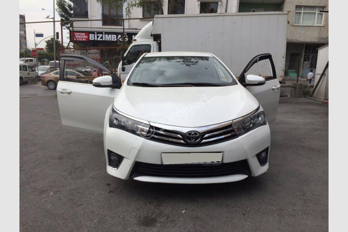 Toyota Corolla Bayrampaşa Kiralık Araç 5. Fotoğraf