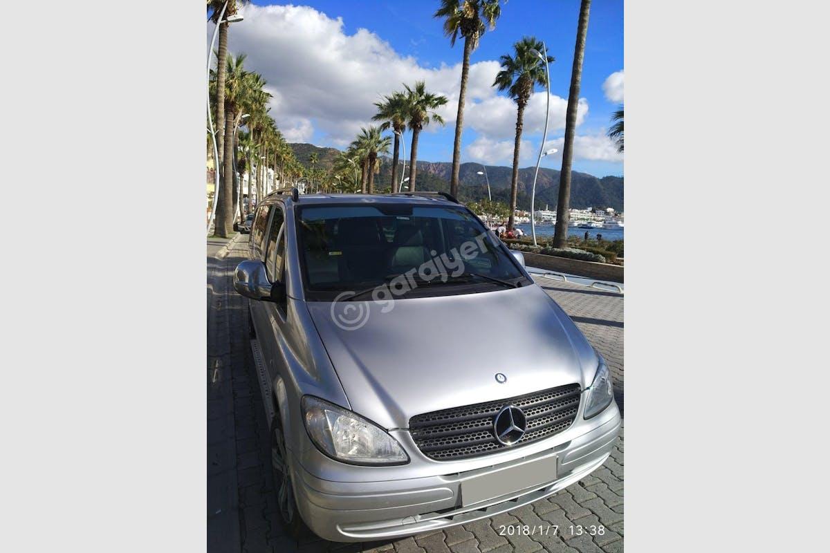 Mercedes - Benz Vito Marmaris Kiralık Araç 4. Fotoğraf