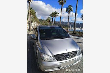 Kiralık Mercedes - Benz Vito , Muğla Marmaris